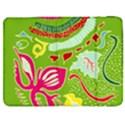 Green Organic Abstract Samsung Galaxy Tab 7  P1000 Flip Case View1