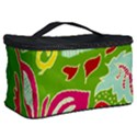 Green Organic Abstract Cosmetic Storage Case View2