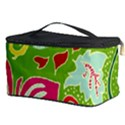 Green Organic Abstract Cosmetic Storage Case View3