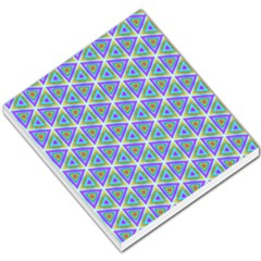 Colorful Retro Geometric Pattern Small Memo Pads by DanaeStudio