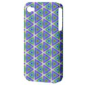 Colorful Retro Geometric Pattern Apple iPhone 4/4S Hardshell Case (PC+Silicone) View3