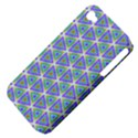 Colorful Retro Geometric Pattern Apple iPhone 4/4S Hardshell Case (PC+Silicone) View4