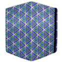 Colorful Retro Geometric Pattern Samsung Galaxy Tab 10.1  P7500 Flip Case View4
