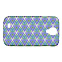 Colorful Retro Geometric Pattern Samsung Galaxy S4 Classic Hardshell Case (PC+Silicone) View1