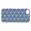 Colorful Retro Geometric Pattern Apple iPhone 5S/ SE Hardshell Case View1