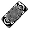 Black And White Ornamental Flower Apple iPhone 5 Hardshell Case with Stand View4