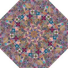Ornamental Mosaic Background Straight Umbrellas