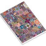 Ornamental Mosaic Background Large Memo Pads