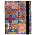 Ornamental Mosaic Background Apple iPad 2 Flip Case View2