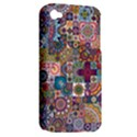 Ornamental Mosaic Background Apple iPhone 4/4S Hardshell Case (PC+Silicone) View2