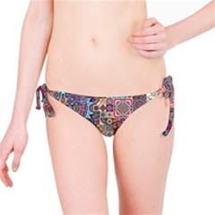 Ornamental Mosaic Background Bikini Bottom
