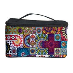Ornamental Mosaic Background Cosmetic Storage Case