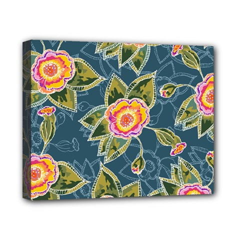Floral Fantsy Pattern Canvas 10  X 8  by DanaeStudio