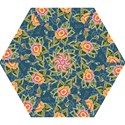 Floral Fantsy Pattern Mini Folding Umbrellas View1