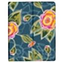 Floral Fantsy Pattern Apple iPad 2 Flip Case View1