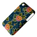 Floral Fantsy Pattern Apple iPhone 3G/3GS Hardshell Case (PC+Silicone) View4