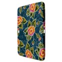 Floral Fantsy Pattern Samsung Galaxy Tab 3 (10.1 ) P5200 Hardshell Case  View3