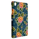 Floral Fantsy Pattern Samsung Galaxy Tab Pro 8.4 Hardshell Case View2