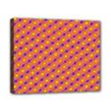 Vibrant Retro Diamond Pattern Canvas 10  x 8  View1