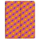 Vibrant Retro Diamond Pattern Apple iPad 3/4 Flip Case View1