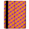 Vibrant Retro Diamond Pattern Samsung Galaxy Tab 10.1  P7500 Flip Case View2