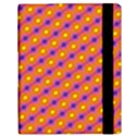 Vibrant Retro Diamond Pattern Samsung Galaxy Tab 10.1  P7500 Flip Case View3