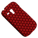 Red Passion Floral Pattern Samsung Galaxy S3 MINI I8190 Hardshell Case View5