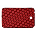 Red Passion Floral Pattern Samsung Galaxy Tab 3 (7 ) P3200 Hardshell Case  View1