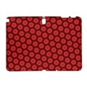 Red Passion Floral Pattern Samsung Galaxy Note 10.1 (P600) Hardshell Case View1
