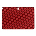 Red Passion Floral Pattern Samsung Galaxy Tab Pro 10.1 Hardshell Case View1