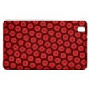 Red Passion Floral Pattern Samsung Galaxy Tab Pro 8.4 Hardshell Case View1