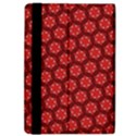 Red Passion Floral Pattern iPad Air 2 Flip View4