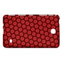 Red Passion Floral Pattern Samsung Galaxy Tab 4 (7 ) Hardshell Case  View1