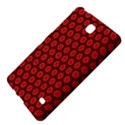 Red Passion Floral Pattern Samsung Galaxy Tab 4 (7 ) Hardshell Case  View4