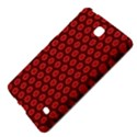 Red Passion Floral Pattern Samsung Galaxy Tab 4 (8 ) Hardshell Case  View4
