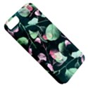 Modern Green And Pink Leaves Apple iPhone 5 Classic Hardshell Case View5