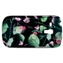 Modern Green And Pink Leaves Samsung Galaxy S3 MINI I8190 Hardshell Case View1