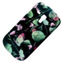 Modern Green And Pink Leaves Samsung Galaxy S3 MINI I8190 Hardshell Case View4