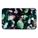 Modern Green And Pink Leaves Samsung Galaxy Tab 3 (7 ) P3200 Hardshell Case  View1