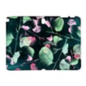 Modern Green And Pink Leaves Samsung Galaxy Note 10.1 (P600) Hardshell Case View1