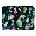 Modern Green And Pink Leaves Samsung Galaxy Tab 4 (10.1 ) Hardshell Case  View1