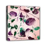 Spiral Eucalyptus Leaves Mini Canvas 6  x 6