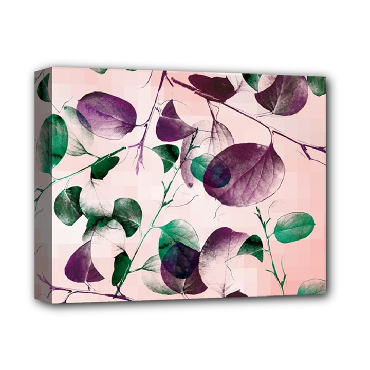 Spiral Eucalyptus Leaves Deluxe Canvas 14  x 11