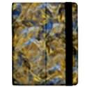 Antique Anciently Gold Blue Vintage Design Apple iPad 2 Flip Case View2