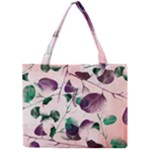 Spiral Eucalyptus Leaves Mini Tote Bag