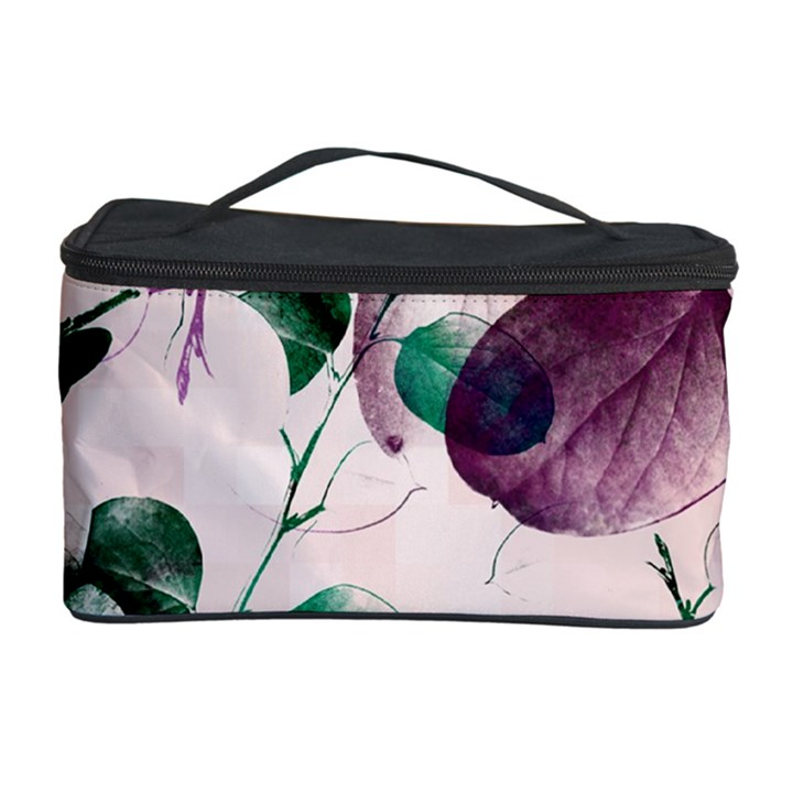 Spiral Eucalyptus Leaves Cosmetic Storage Case