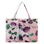 Spiral Eucalyptus Leaves Medium Tote Bag