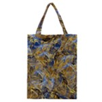 Antique Anciently Gold Blue Vintage Design Classic Tote Bag