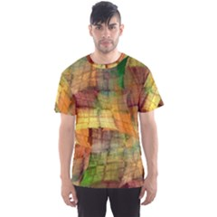 Indian Summer Funny Check Men s Sport Mesh Tee by designworld65