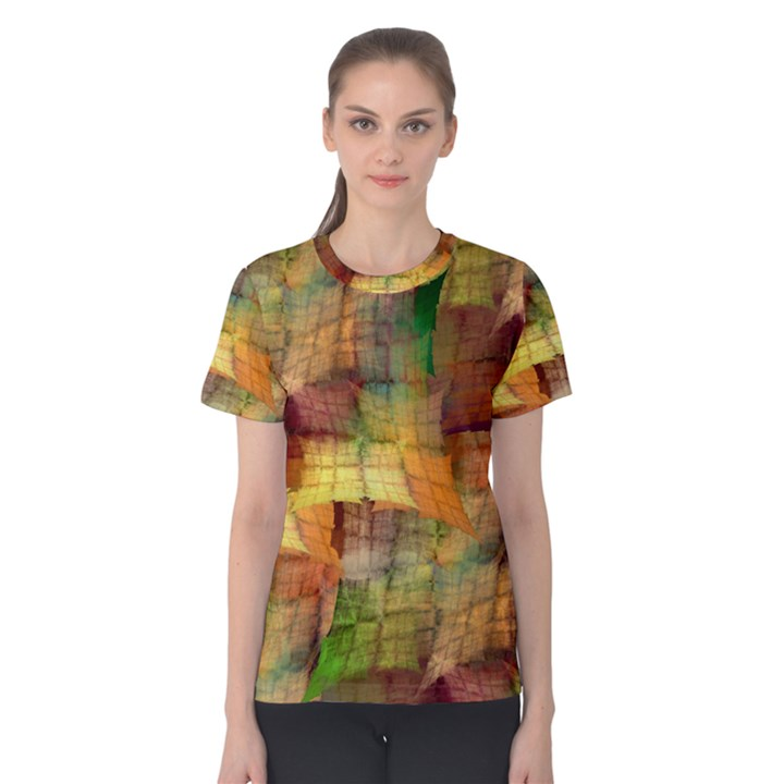 Indian Summer Funny Check Women s Cotton Tee